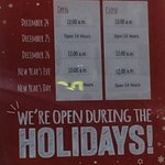 Mcdonalds holiday hours